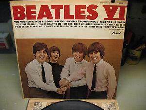 BEATLES VI  LP  CAPITOL  T 2356 HIGH FIDELITY   RIAA  VINTAGE ORIGINAL  1960's