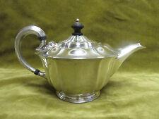 early 20th c english sterling silver tea pot (Sheffield 1902 Atkin bros) 452gr