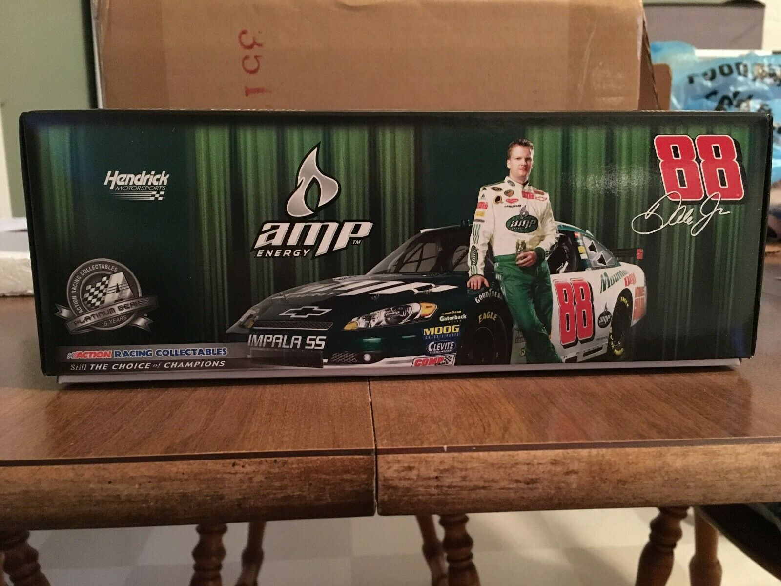 New in box Dale Earnhardt Jr #88 Amp Energy/Mt. Dew 2008 Impala SS