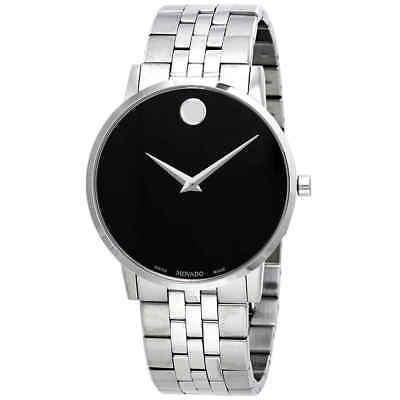 Movado Museum Classic Black Dial Men's Watch 0607199