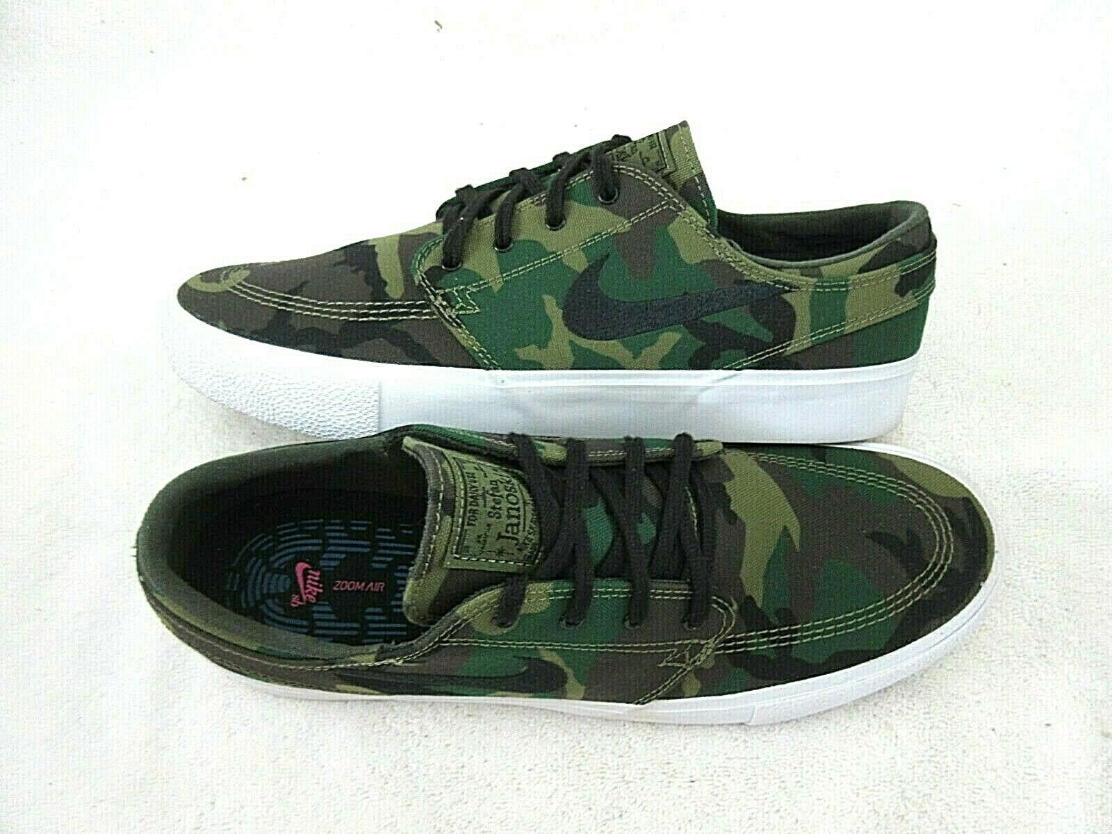 Details zu Nike Zoom Janoski Canvas RM Premium CNVS PRM SB Herren Camo Schuhe AQ7878 200