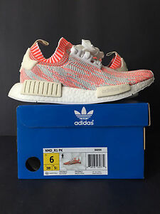 2a31363034903 2016 DS NEW ADIDAS NMD R1 PK CAMO PACK SOLAR RED MEN 6 WOMEN 7.5 ...