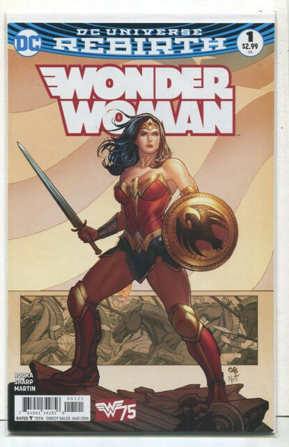 Wonder Woman #1 NM Rebirth  Cover D  DC Comics CBX8A