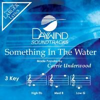 Carrie Underwood - Something In The Water - Accompaniment Cd