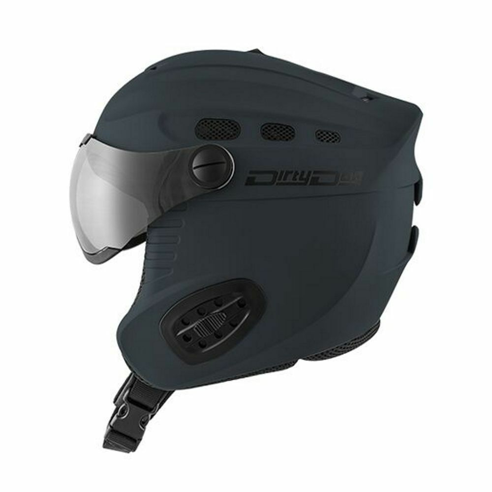 Dirty NEW Dog NEW Dirty Uomo Apache Helmet Matt grigio BNWT fc9f21