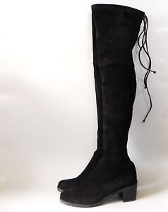 7962ebc4e2a Image is loading NEW-Stuart-Weitzman-Elevated-Suede-Over-the-Knee-
