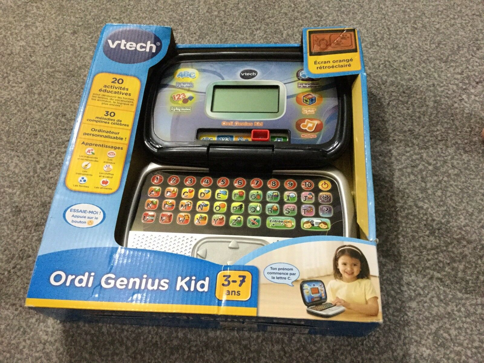 V tech ordi genous kid FRENCH LANGUAGE