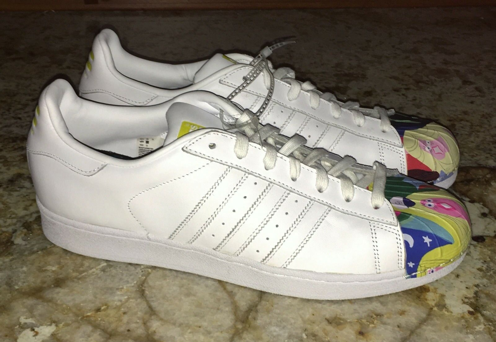 ADIDAS White Todd James Supershell Superstar Pharrell shoes Sneakers NEW Mens 11