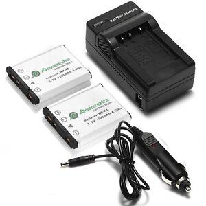 2x-1200mAh-Battery-Charger-For-NP45-Fuji-FinePix-XP70-XP60-XP50-XP30-XP20-T550