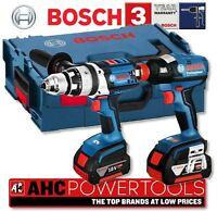 Bosch Gsb 18ve-2li & Gdx 18v-ec 18v Cordless Combi Drill And Impact Driver