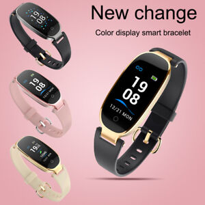 s3 damen smart watch pulsuhr armband sportuhr schrittz hler fitness tracker gps ebay. Black Bedroom Furniture Sets. Home Design Ideas