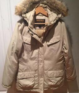 Original Giacca Fabulus 1190f Mint Ladies Trim Fur Woolrich Parka Down Xl Coyote yWZ11c