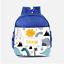 Personalised-Dino-Dinosaurs-Scene-Cute-Boys-Kids-Backpack-Childrens-School-Bag thumbnail 1