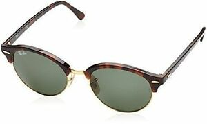 0bc44526df3 Ray-Ban Rb4246 990 51mm Clubround Classic Tortoise Gold Sunglasses ...