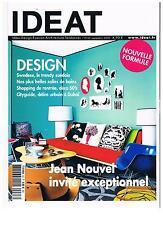 IDEAT 63 2008 JEAN NOUVEL + PARIS POSTER GUIDE