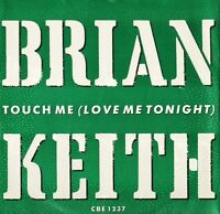 "BRIAN KEITH touch me CBE 1237 uk city beat 12"" PS EX/EX"