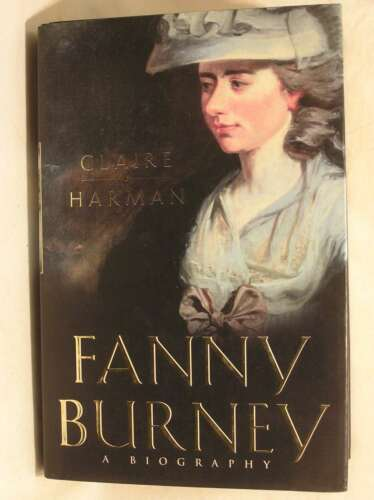 1 of 1 - Fanny Burney: A biography, Harman, Claire, Excellent Book