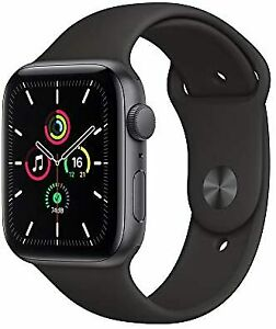 Reloj de Apple se (Gps Modelo) - 44mm Gris Espacial Caja de aluminio y banda de Deportes Negro