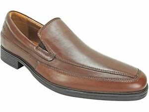 4004930014 Clarks Men s Tilden Free Loafers Brown Leather Size 8.5 M ...