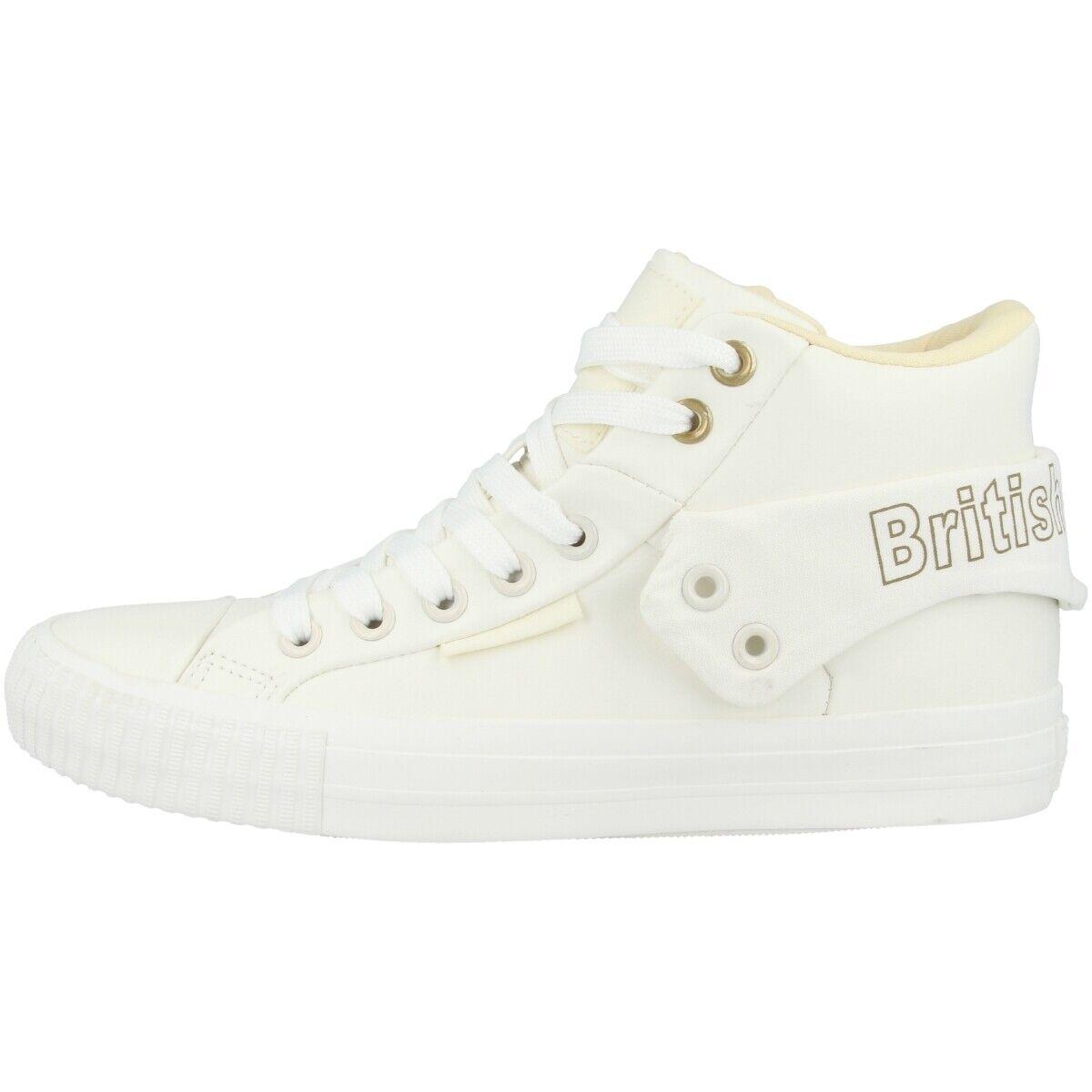 British Knights Roco Snt chaussures BK femmes Baskets Top Mid bottes B42-3719-06