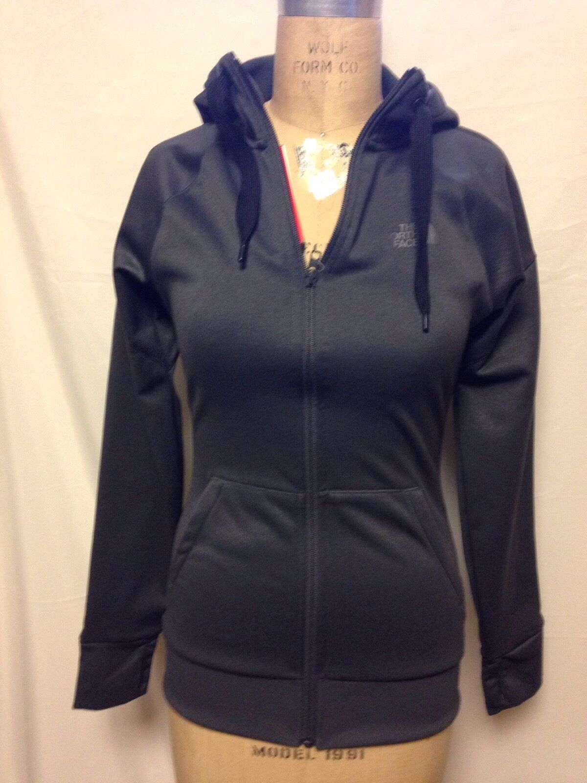 221ce58af The North Face Womens Suprema Full Zip Performance Hoodie Asphalt Grey  Regular XS