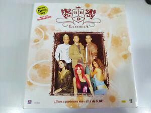 RBD-REBELDE-la-Familia-5-x-DVD-Edicion-Coleccionista-25X25-cm-3T