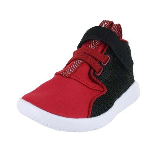 New Jordan Eclipse Chukka BT 881456-001 Black-White-Red-Toddler Infant Size 5-10