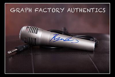 Good Gfa American Pop Singer Ryan Beatty Signed Microphone R1 Coa