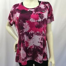 79a28dcdfc4 Nike Plus Size Dry Miler Running Top Shirt 878694 True Berry 1X NWT  40