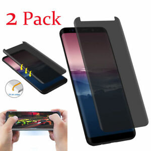 2-X-Samsung-Galaxy-S8-S9-Plus-Privacy-Anti-Spy-Tempered-Glass-Screen-Protector