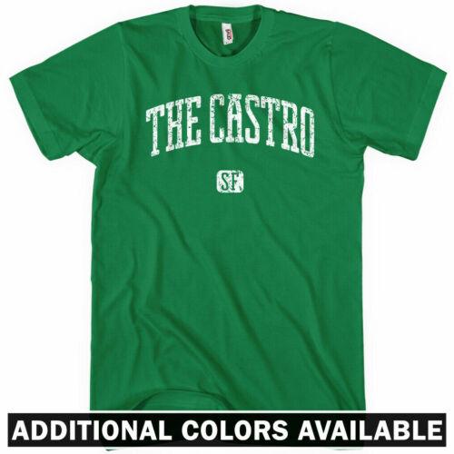 Gift California SF District LGBT Men S-4X The Castro San Francisco T-shirt
