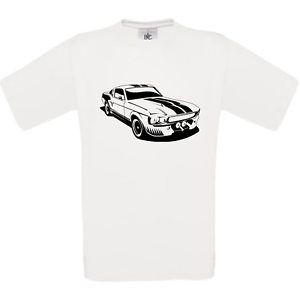 FORD-MUSTANG-ELEANOR-GT-500-SHELBY-tee-shirt-homme-blanc-noir-gris