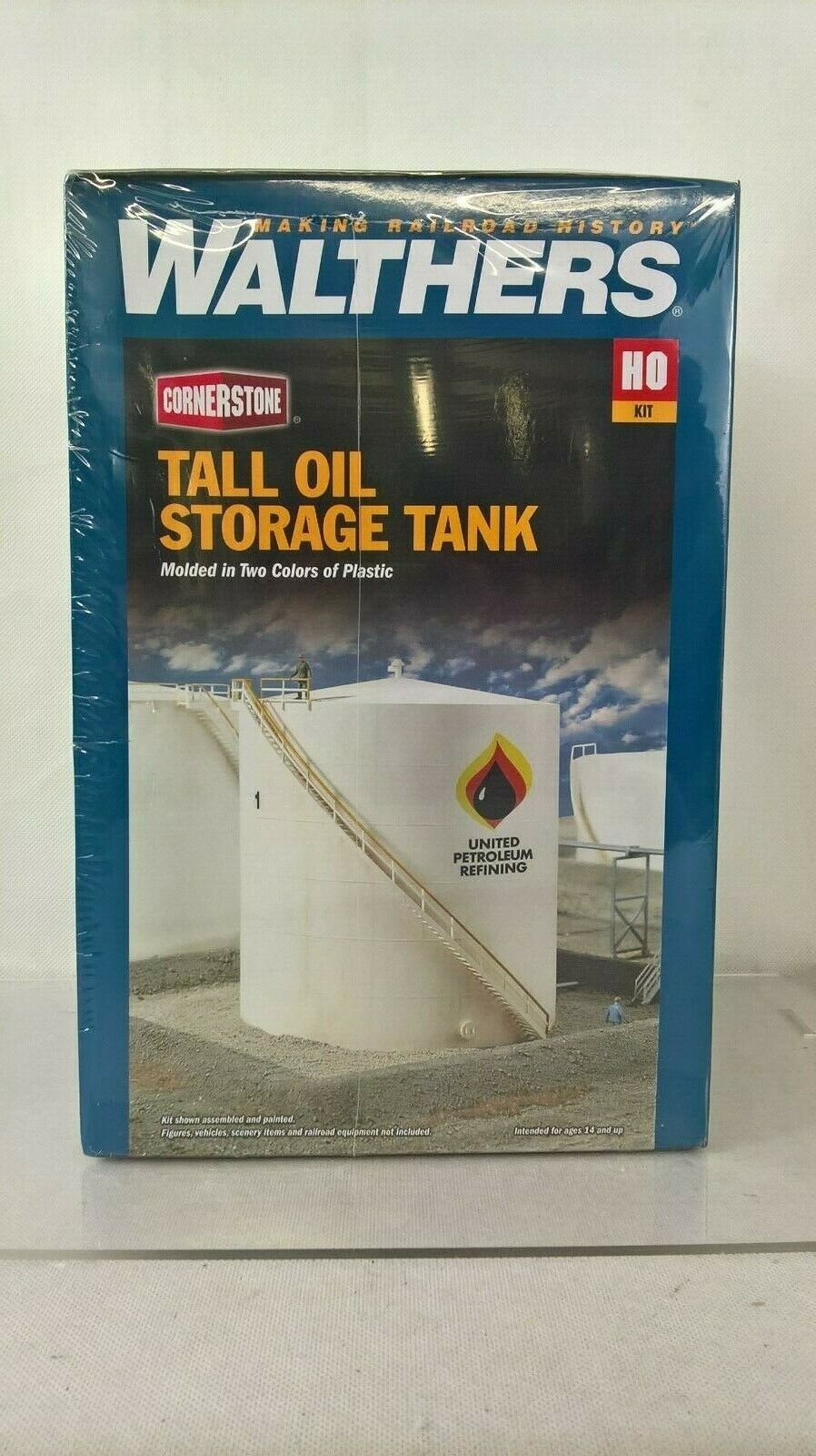 Walthers 931-3168 Tall Oil Storage Tank HO Scale NEW