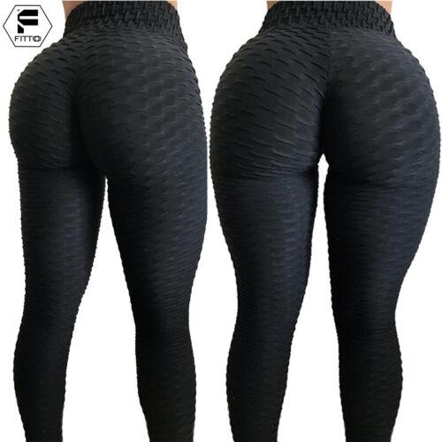 Damen Sport Legging Yoga Hose Fitness Stretch Jeggings Laufhosen Leggins Gym H13