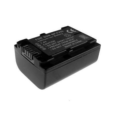 BATTERIA per Sony hdr-cx550 hdr-cx550e hdr-cx550v INFO CHIP