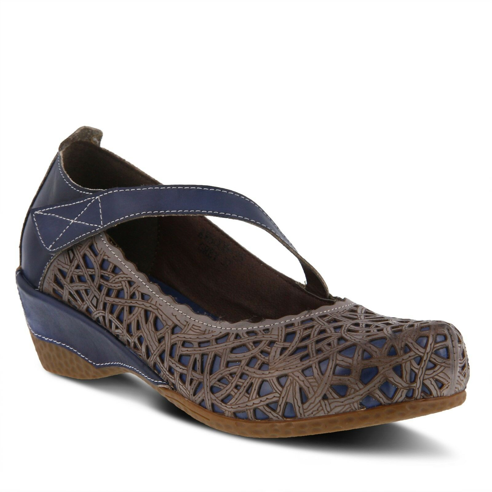 Interview Melinda Mujer Mujer Mujer Azul Multi Mary Jane Zapatos EE. UU. 6 EUR 36  muy popular