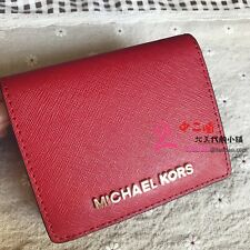 42539f7b4b7b item 2 Michael Kors Jet Set Travel Saffiano Leather Flap Card Holder Wallet  Case -Michael Kors Jet Set Travel Saffiano Leather Flap Card Holder Wallet  Case