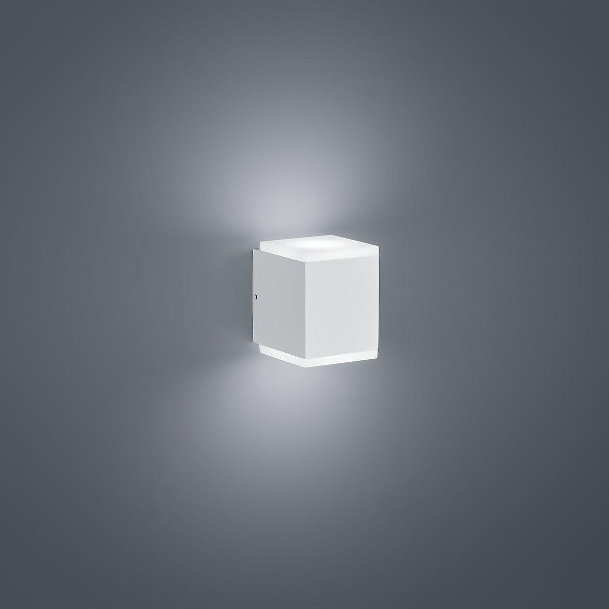 Helestra Kibo LED Exterior-Luz blancoo Mate A28612.07