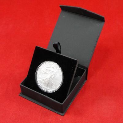 2 Encap Page Coin Holder /& 40 Model H 30mm Half Dollar Kennedy Capsule Case