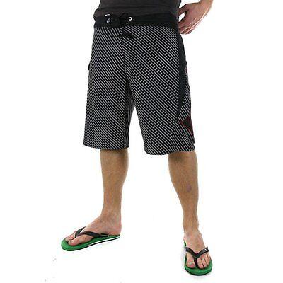 Volcom 2ez Stripe Black Boardshorts