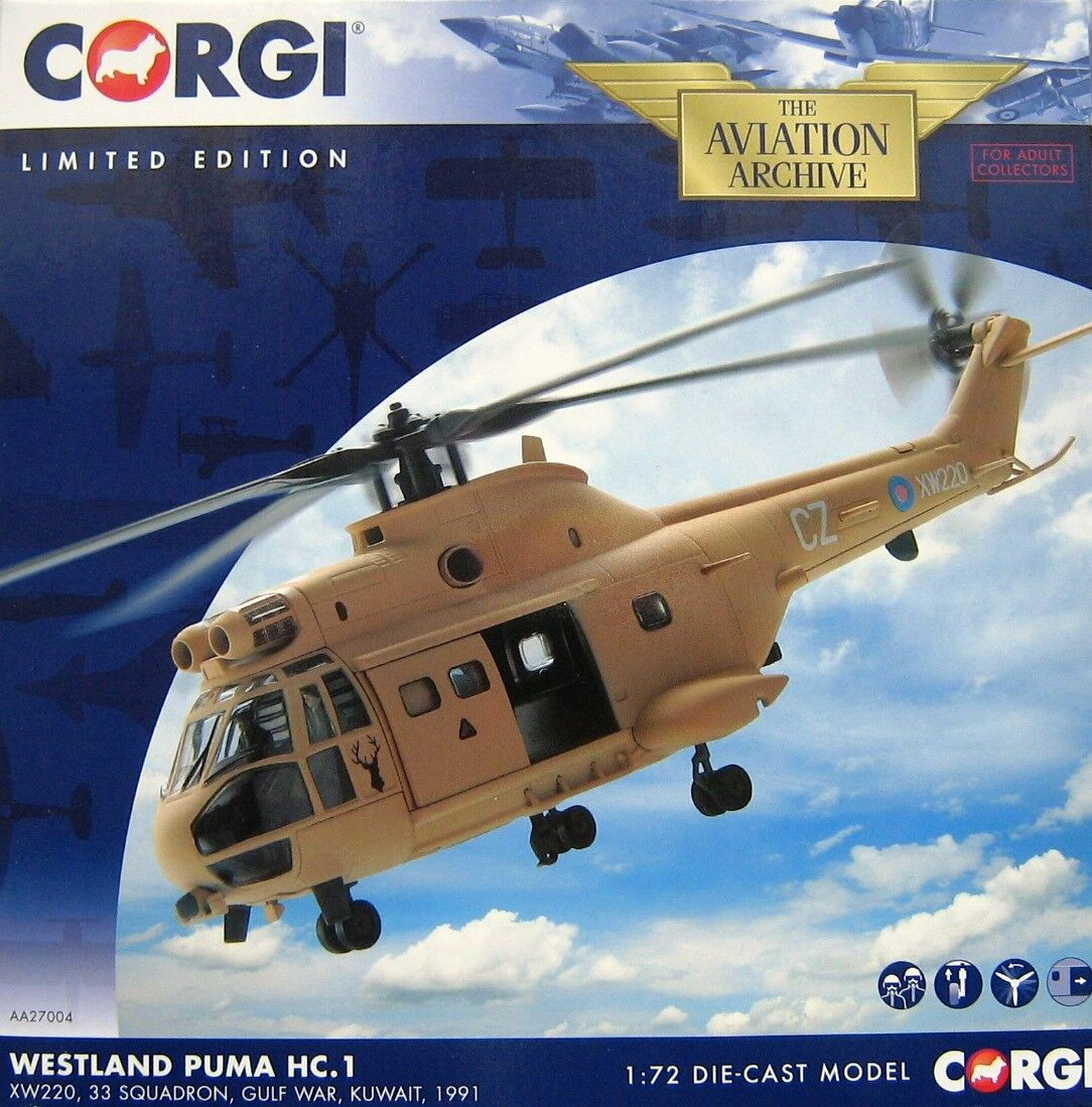 AA27004 - Westland Puma Helicopter HC1 XW220 33 Sqd. Operation Granby Gulf War