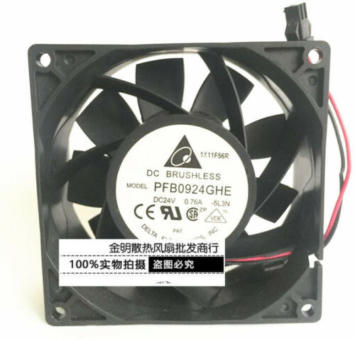 Delta 9238 9CM PFB0924GHE 24V 0.76A ACS510//550 ABB inverter fan