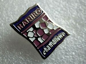 Pin-039-s-vintage-Collector-publicitaire-HARIBO-chamallows-marque-logo-Lot-PM005