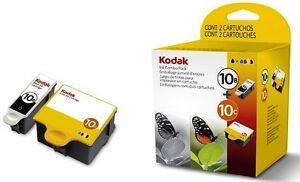 Paquete-Doble-Original-Color-Negro-10B-y-Kodak-10-C-ESP-5250-3250-725-franqueo-rapido