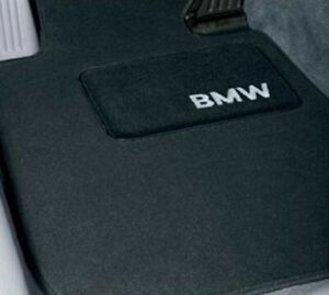 Genuine Front /& Rear Carpeted Black Floor Mats Set for BMW E93 M3 Convertible
