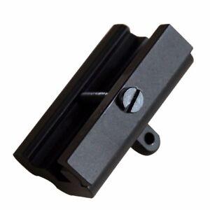 Rifle-Gun-Bipod-Sling-Swivel-Adapter-Weaver-Picatinny-Rail-Mount-Base-Black