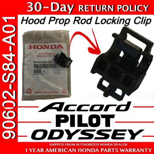 Genuine OEM Honda Accord Odyssey Pilot Hood Prop Rod Holder Clip 90602-S84-A01