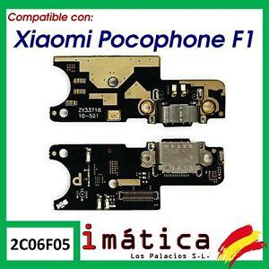 PLACA DE CARGA PARA XIAOMI POCOPHONE F1 CONECTOR PUERTO USB ANTENA MICROFONO