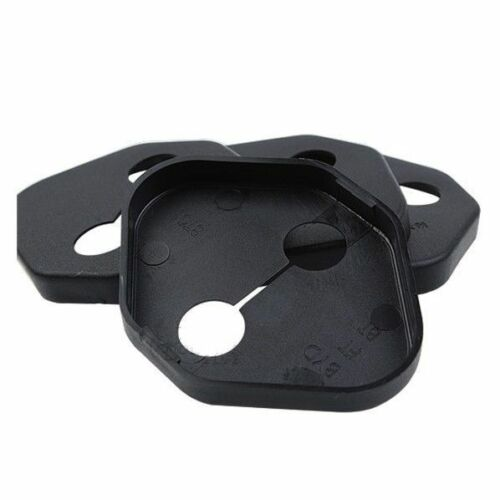 4PCS Black ABS Auto Door Lock Buckle Cover Guard Protector For Toyota Corolla EX