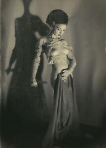 Vintage-Bride-of-Frankenstein-Photo-83-Oddleys-Strange-amp-Bizarre-5-x-7